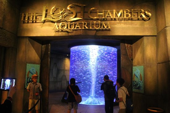 The Lost Chambers Aquarium: The Entrance to the Lost Chambers