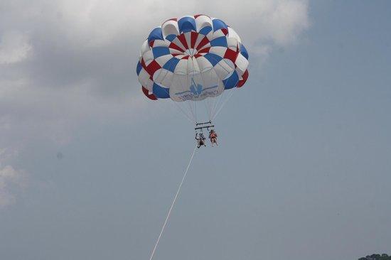 Parasail Hilton Head: Up in the air