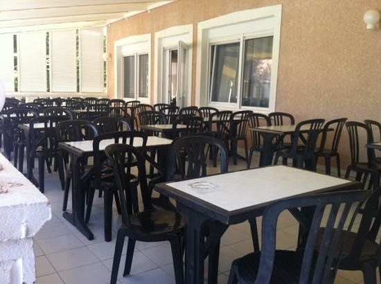 Hotel Thalassa : veranda