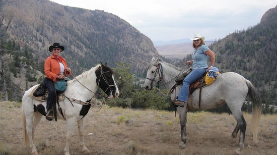 The Lazy L&B Ranch: on trails