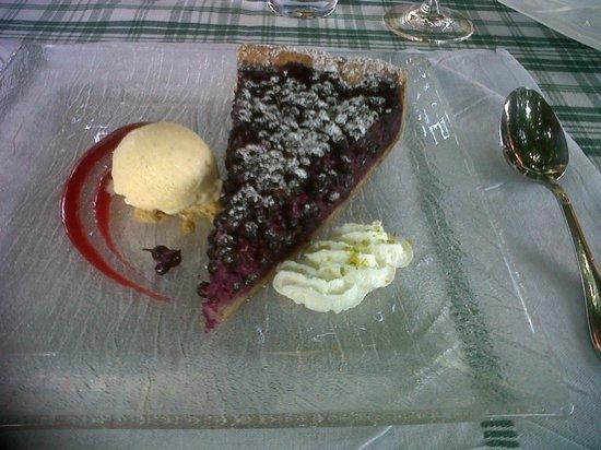 Restaurant L' Ami Fritz : la tarte aux myrtilles