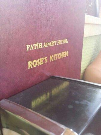 Fatih Apart Hotel: fantastic food