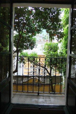 Las Casas de la Juderia : View from our balcony.