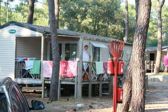 Camping de la Cote d'Argent : one of our 2 Houses