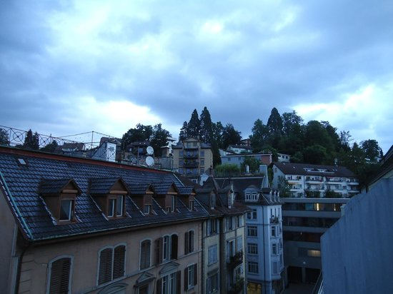 ibis Styles Luzern City: early morning view on the other side