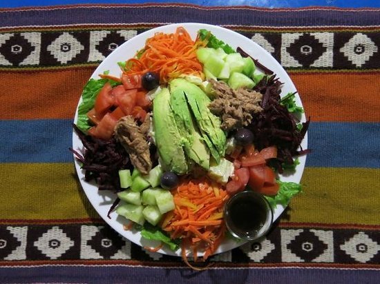 A typical Coffee Tree Salad