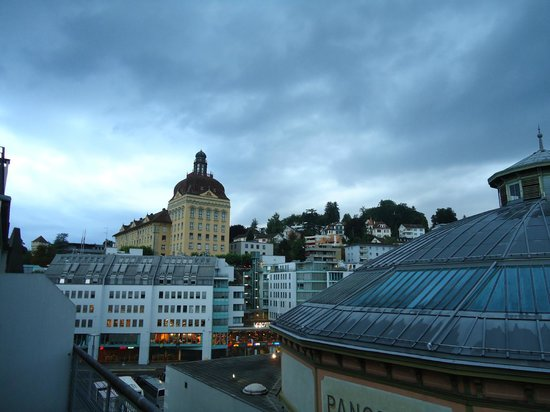 ibis Styles Luzern City: early morning view