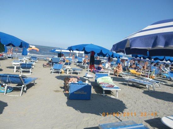 Camping Village Internazionale: La plage