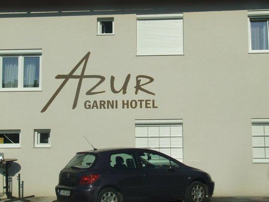 Garni Hotel Azur: esterno hotel
