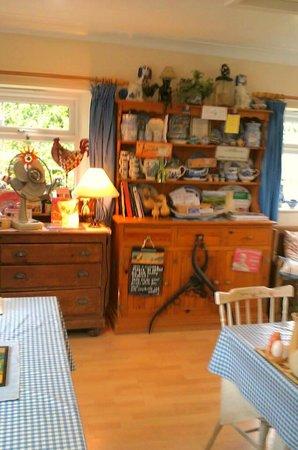 The Buttley Tearoom: inside tearooms