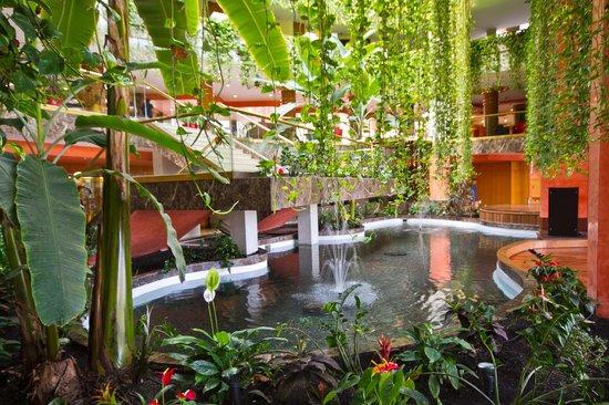 Hotel Gala: Jardin en salon actuaciones