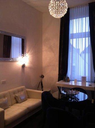 Aparthotel am Muenzplatz : Living Room