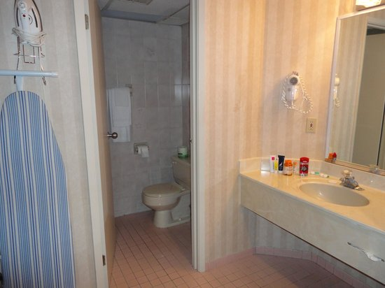 Travelodge Niagara Falls Bonaventure: bathroom