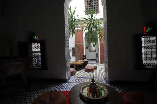Dar el Ma: Beautiful lounge area