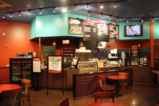 Quinault Beach Resort and Casino : Snack bar.