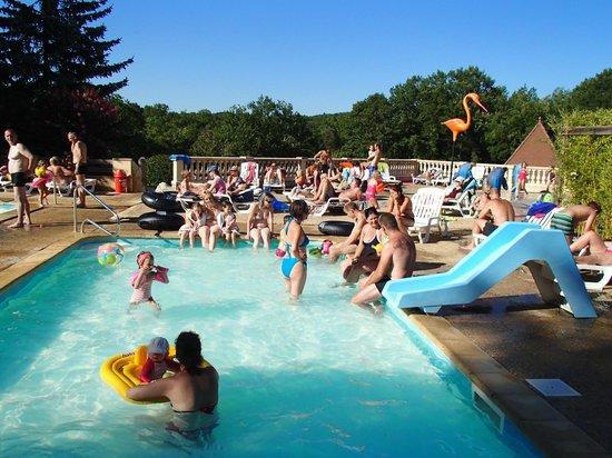 Camping La Palombiere: piscine enfants
