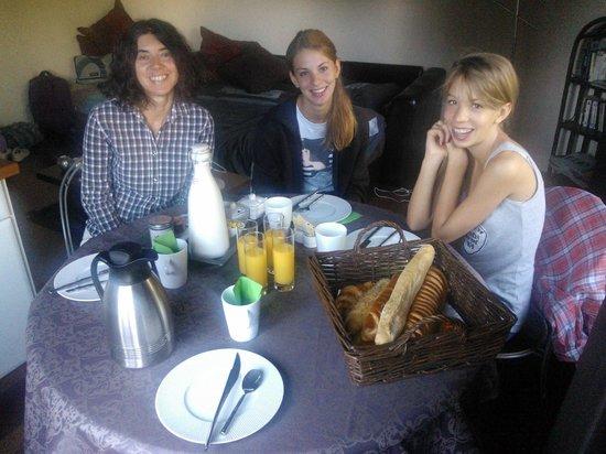 Maunoury City Break: Colazione in camera