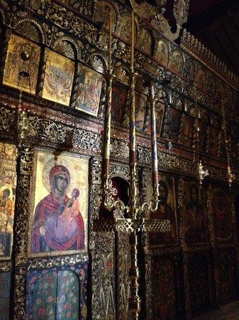 Melnik, Bulgaria: interno del monastero