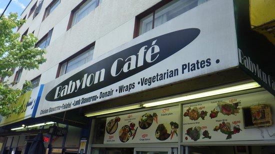 Babylon Cafe: outside view