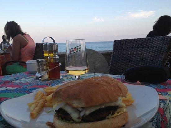 Cafe Son Moll: Super Burger und klasse Ausblick dabei
