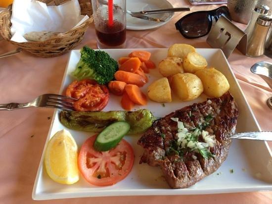 Limelight Taverna: pork steak
