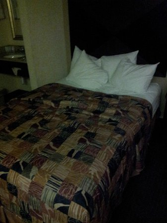 Sleep Inn Tampa: bed
