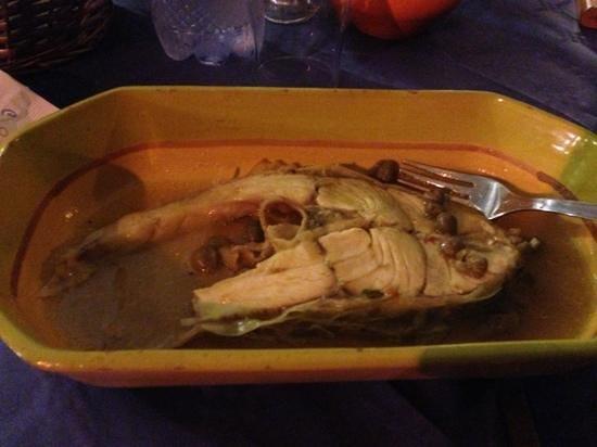 Ristorante Mughara : cernia in umido con patate
