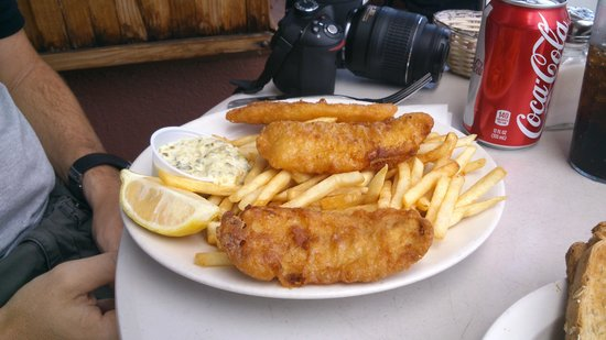 Bridgeway Cafe : fish and chip