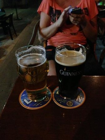 Golden Arrow : keo and guinness