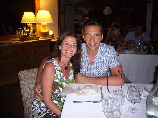 Hotel Su Sergenti: Rita e Vincenzo Genova