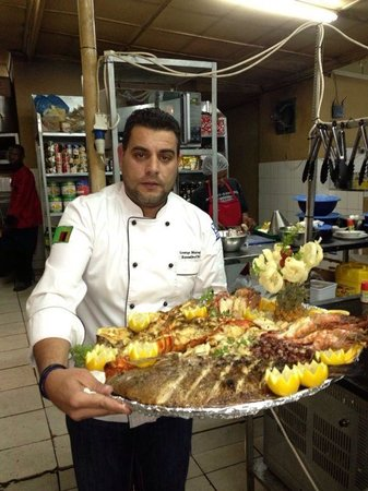 Eviva : Excellent chef at work