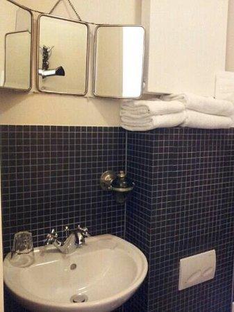 Hotel Le Berger: Baño high tech