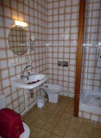 Hôtel de la Citadelle: salle de bain