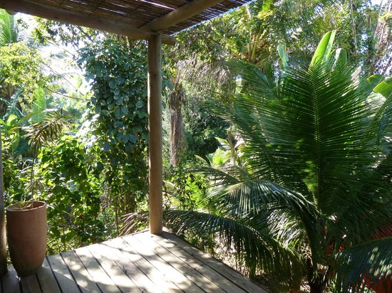 Soleluna Casa Pousada: Nossa varanda do bangalô