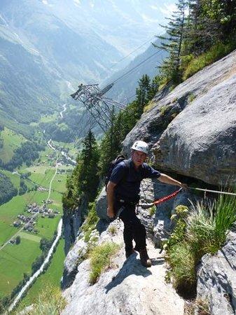 Via Ferrata: Murren Gimmelwald Klettersteig