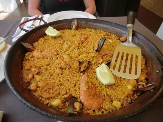 La Bodegueta Del Mar: Paella morisco