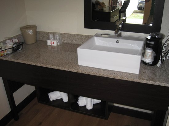 Red Roof PLUS+ Baltimore - Washington DC/BWI Airport: Vanity sink