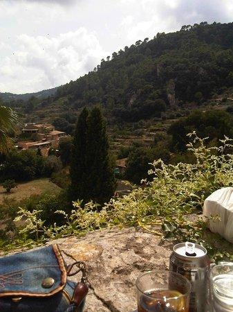 Casa de Sa Miranda: Vistas desde la terracita de arriba