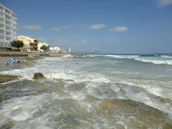 Hotel & Apartments Vista Park: Берег моря  и набережная около отеля