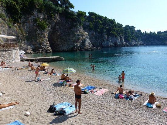 Hotel Bellevue Dubrovnik : La plage publique