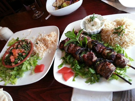 Savory Maza: Yum, Lamb Kabobs and (what was) the Tour of Lebanon!!!