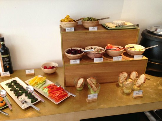 part of breakfast buffet picture of louis hotel munich tripadvisor. Black Bedroom Furniture Sets. Home Design Ideas