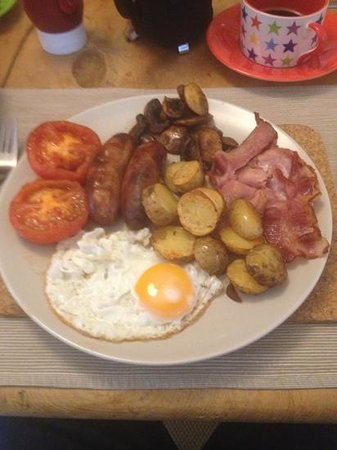 Upton Noble, UK: wow!! what a breakfast!
