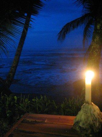 Sobre las Olas: view from table
