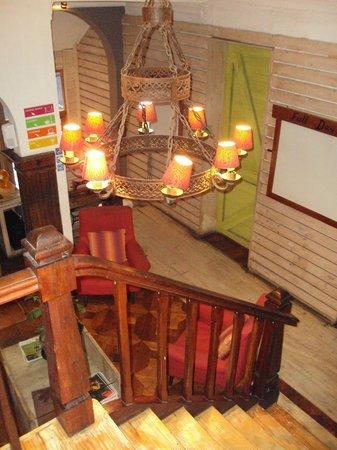 Dominica Hostel: common area