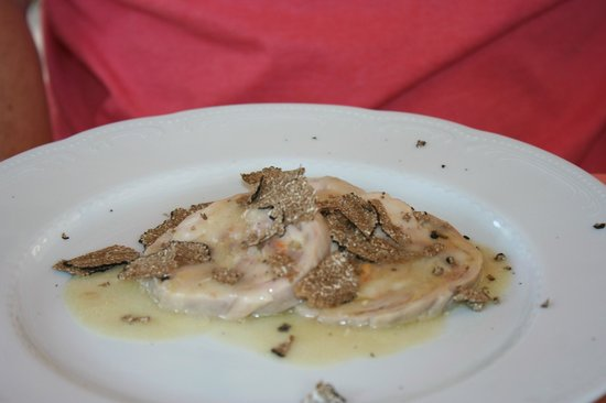 Il Pozzo : Rabbit with truffle - hubby loved it!