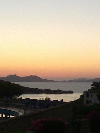 Hotel Olimpia : tramonto