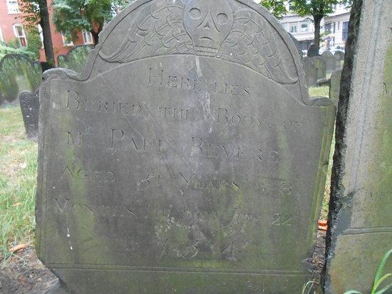 Granary Burying Ground: Paul Revere