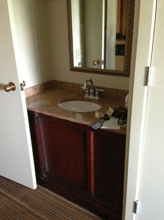 Embassy Suites by Hilton Parsippany : Extra sink in room