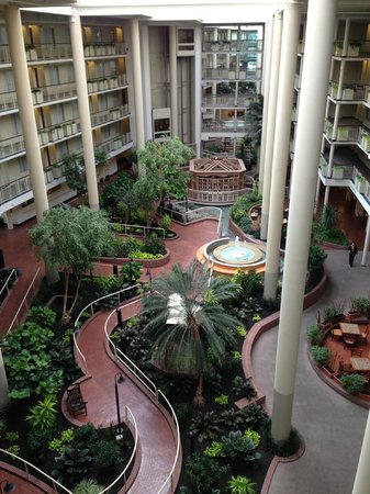 atrium picture of embassy suites by hilton parsippany. Black Bedroom Furniture Sets. Home Design Ideas